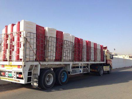Ozplast Road Barrier Supply Order